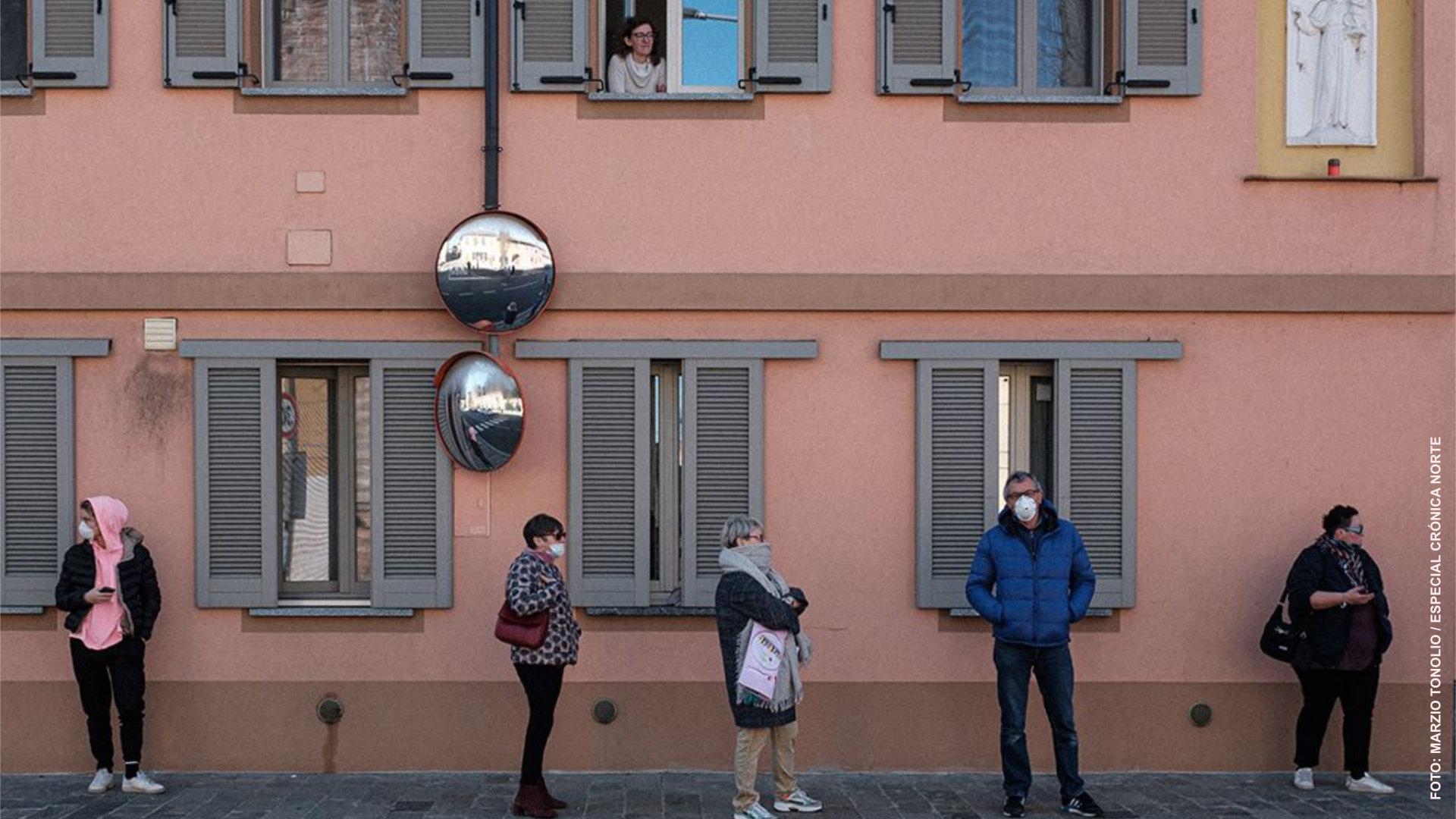 Coronavirus: retrato de una epidemia que mantiene paralizada a Italia