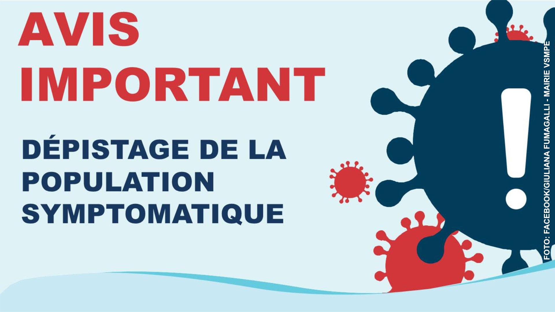 Pruebas gratuitas de COVID-19 en Saint-Michel