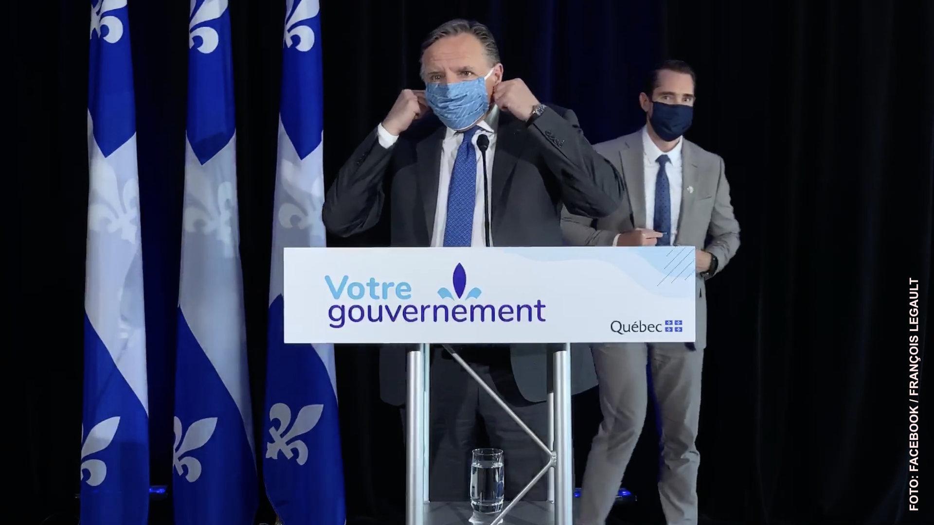 Obligatorio, uso de mascarillas en lugares cerrados en todo Quebec