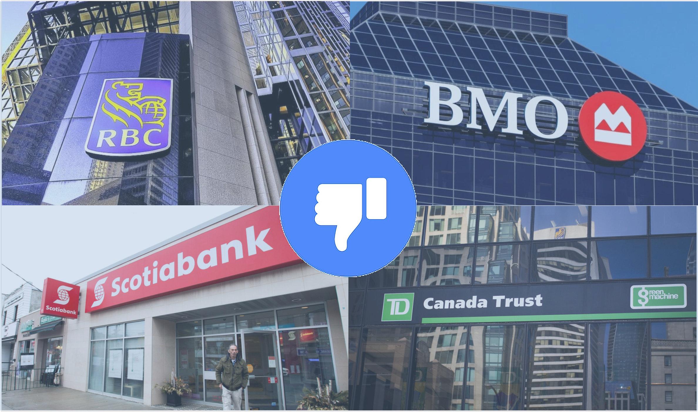 Bancos canadienses se unen a boicot contra Facebook