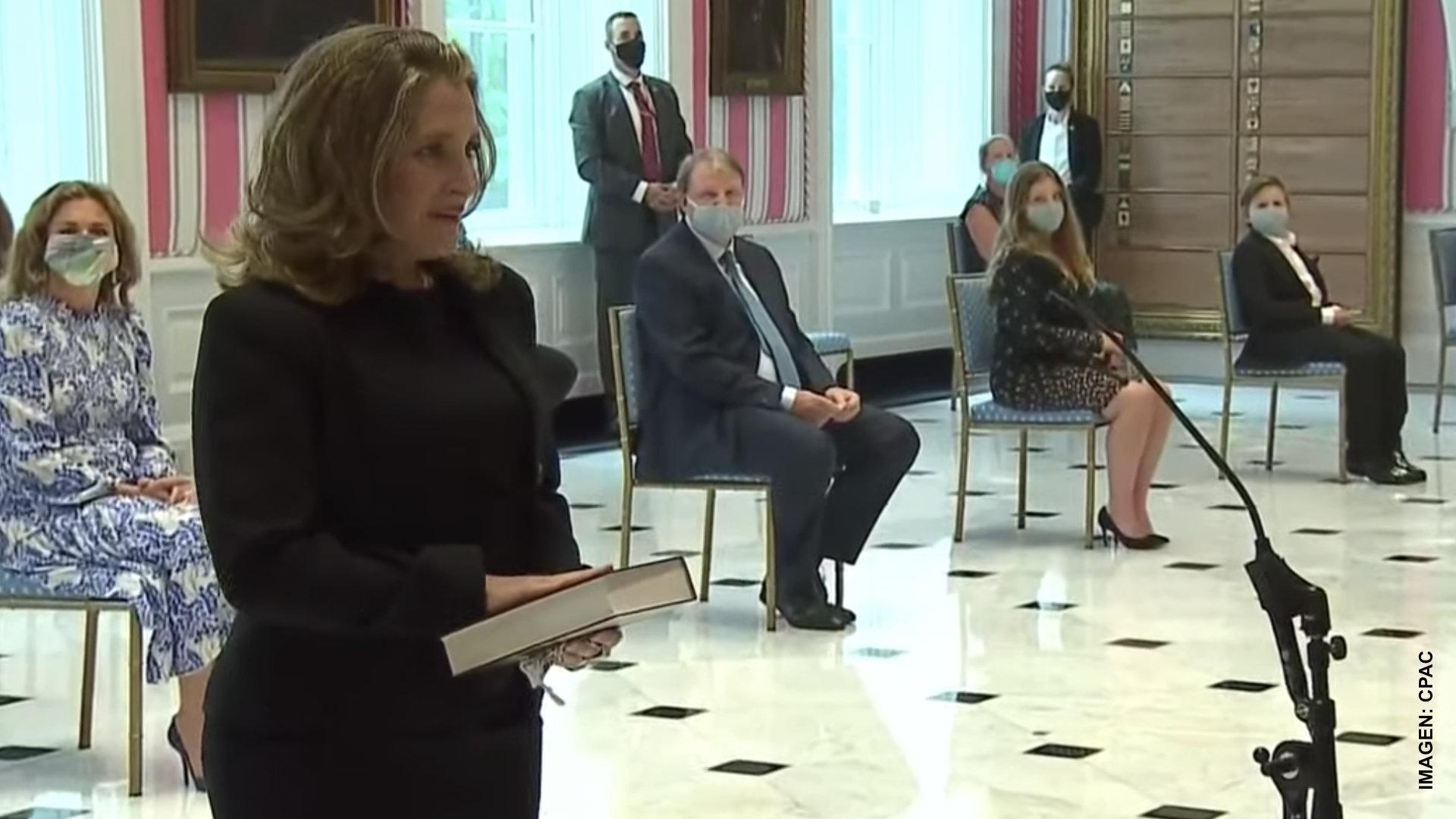 Chrystia Freeland, nueva ministra de Finanzas
