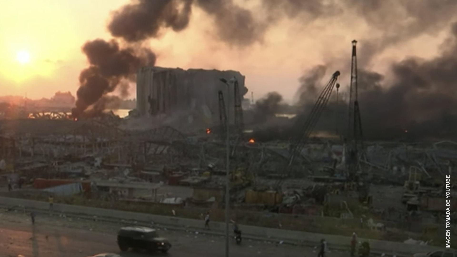 Escena de Apocalipsis en Beirut