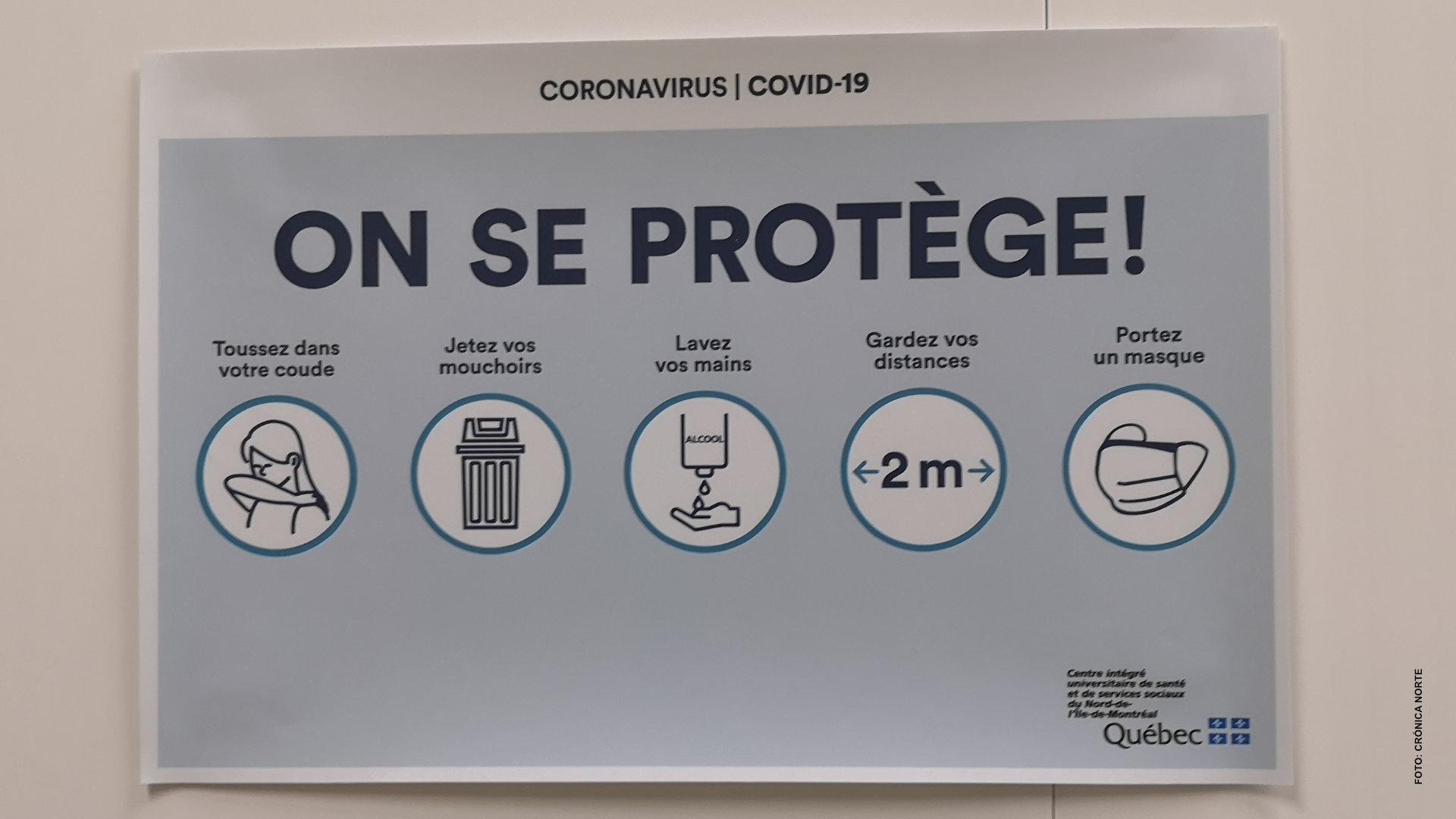 Quebec prolonga restricciones sanitarias cuatro semanas más