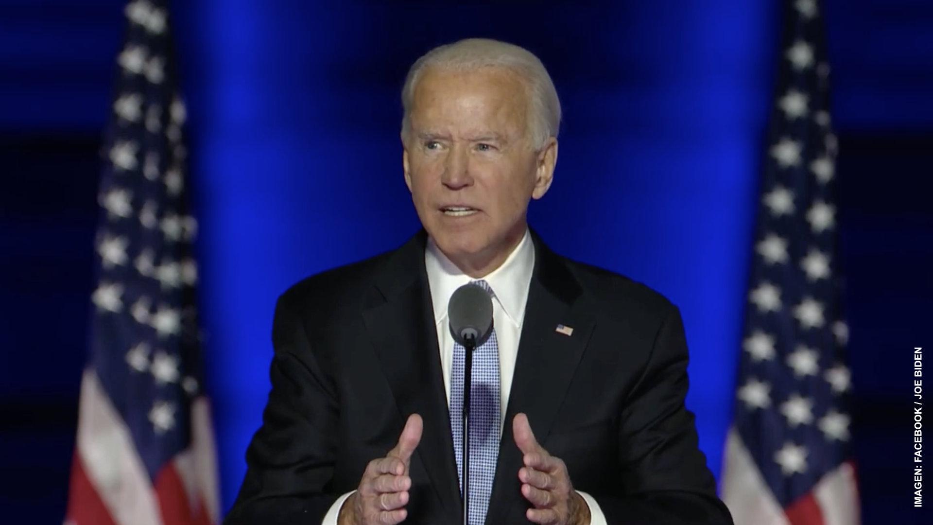 Joe Biden tiende la mano a simpatizantes republicanos