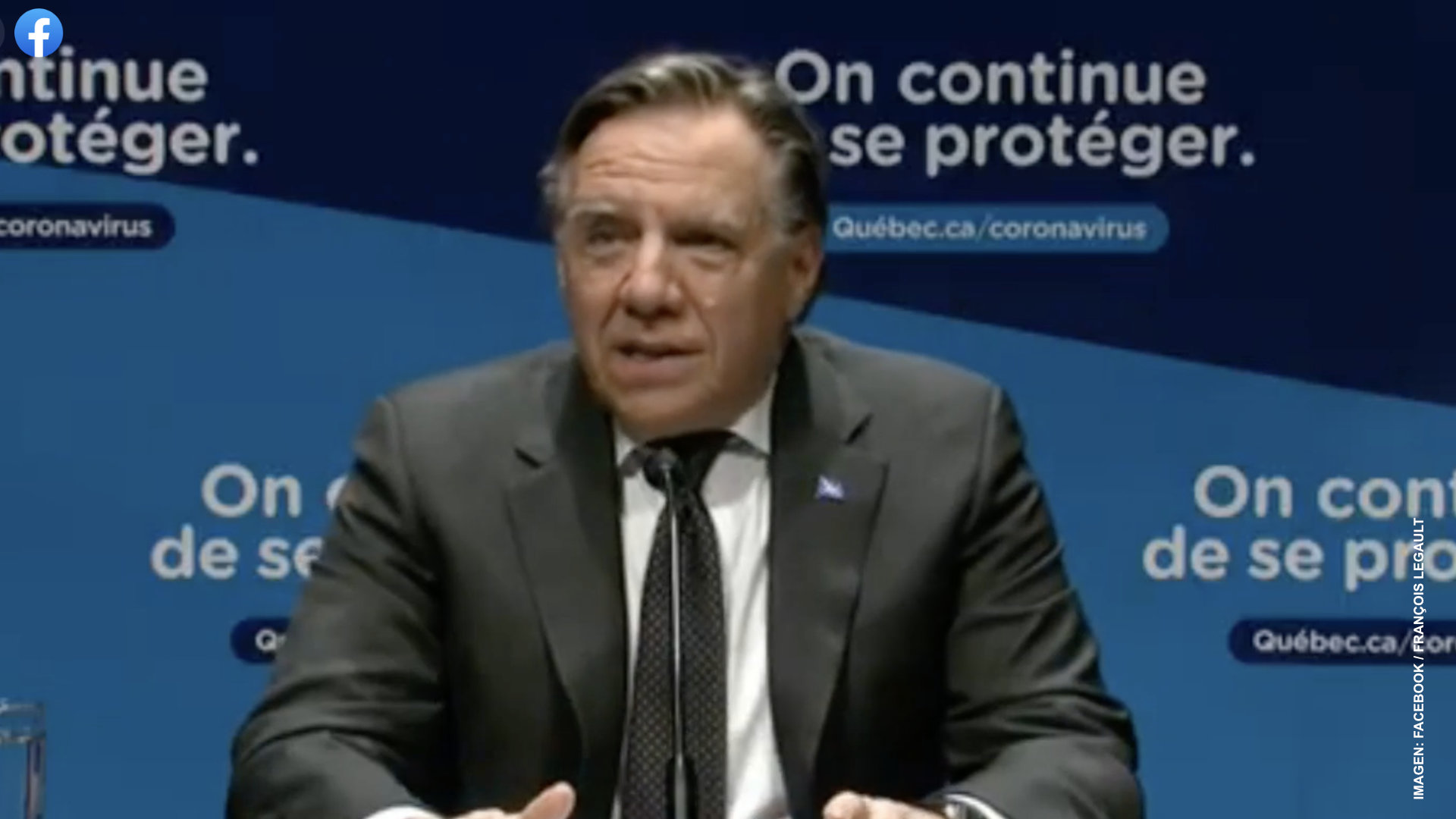 Anuncia Quebec cierre de comercios no esenciales
