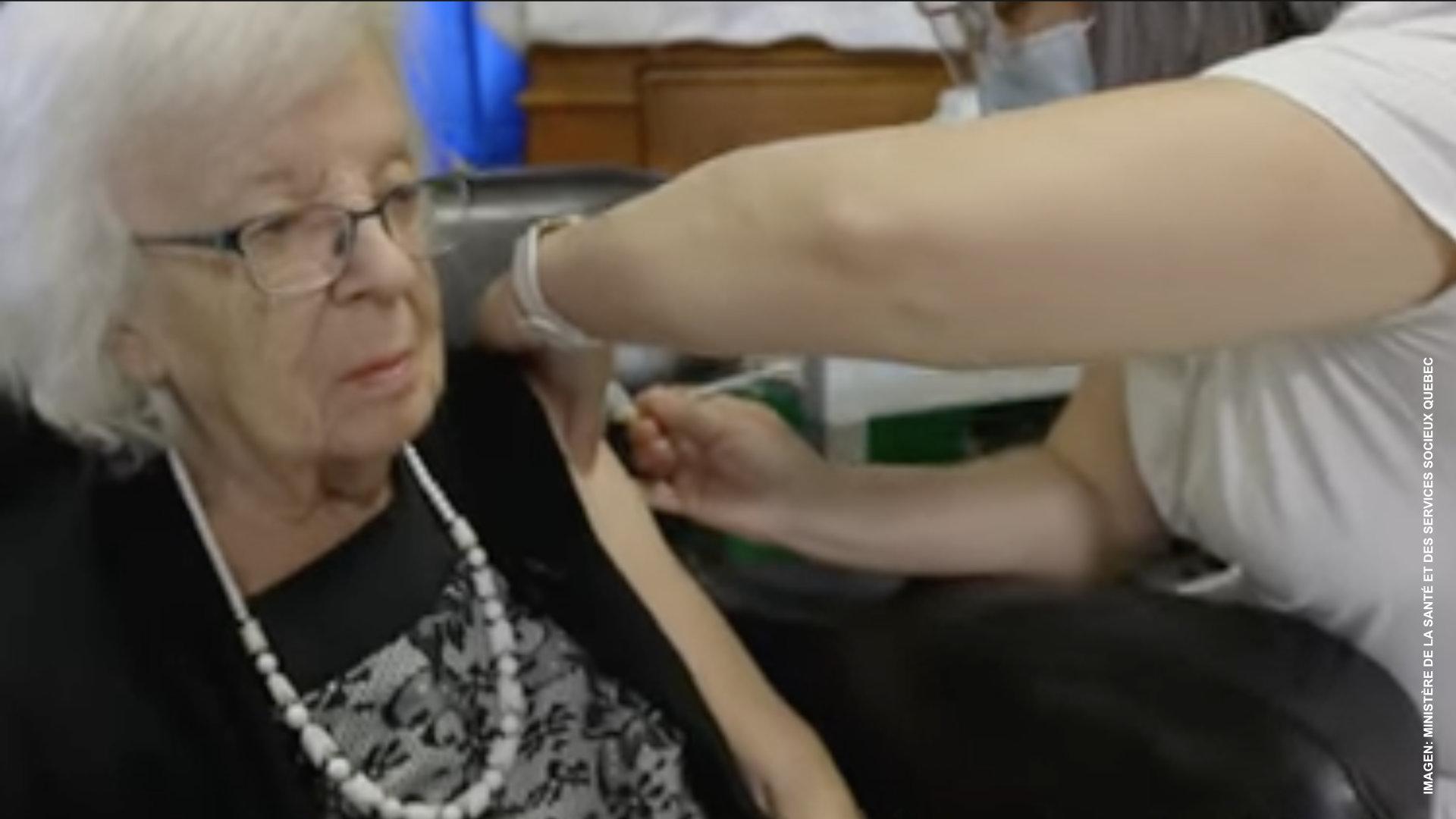 Quebec inicia plan de vacunación en los CHSLD