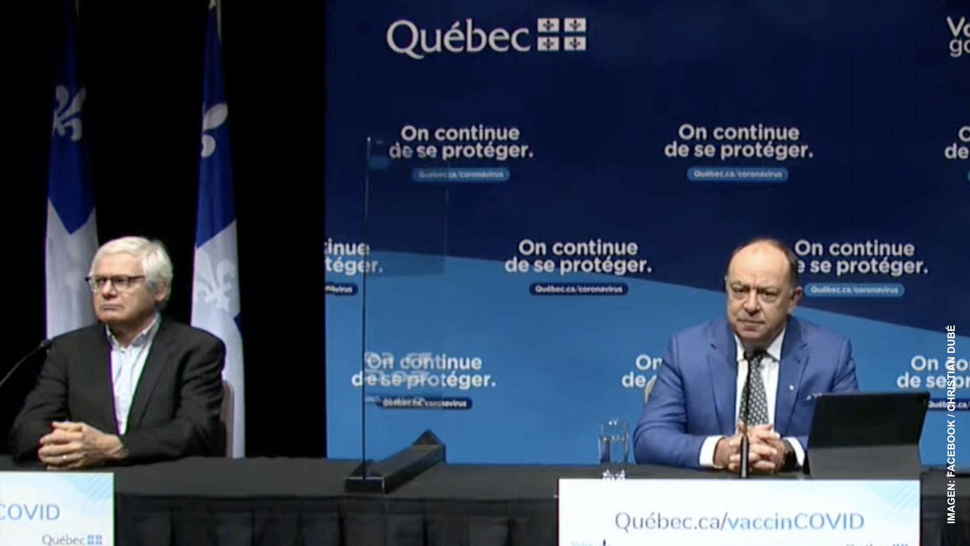 Alarga Quebec a 90 días aplicación de segunda dosis