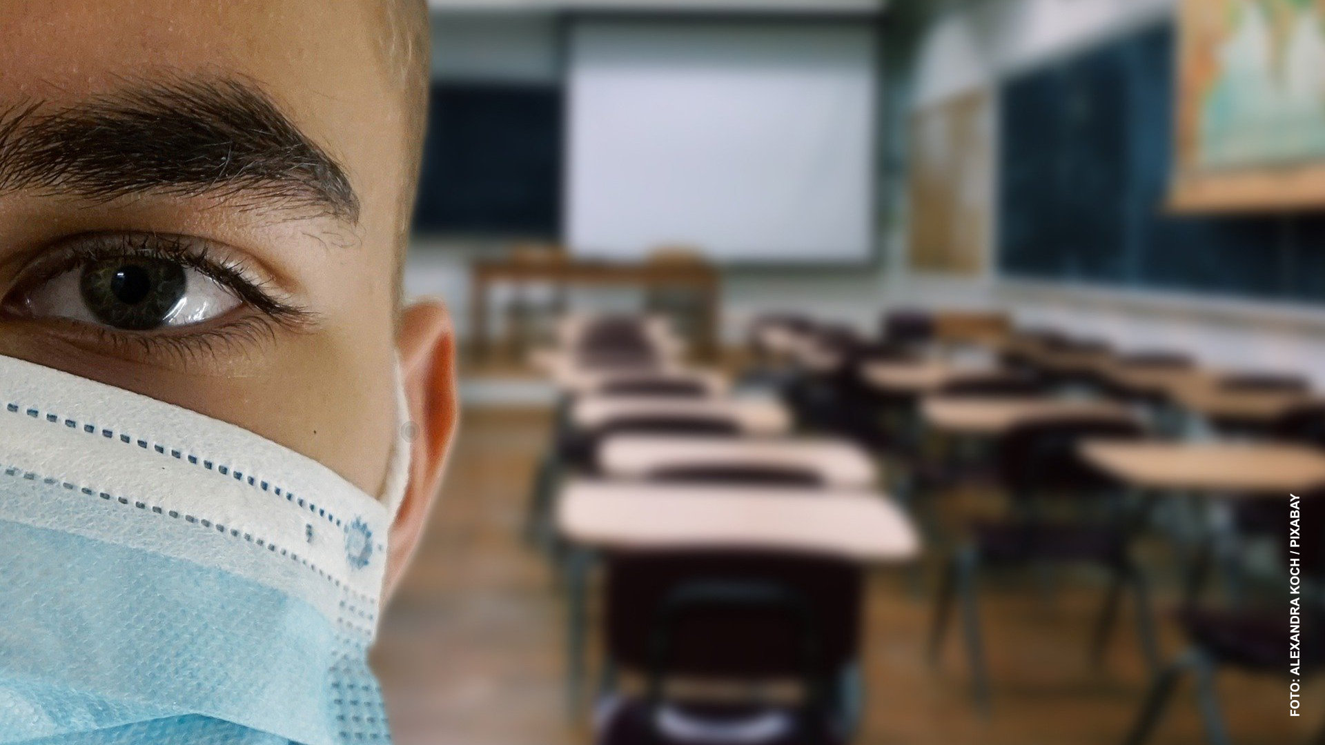Alumnos de 5 y 6 grados de primaria usarán mascarillas