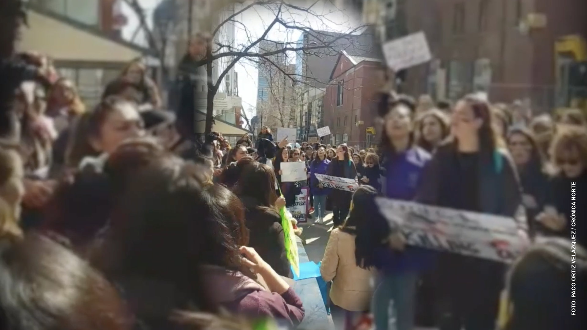 Crónica Norte conmemora la lucha feminista #8M