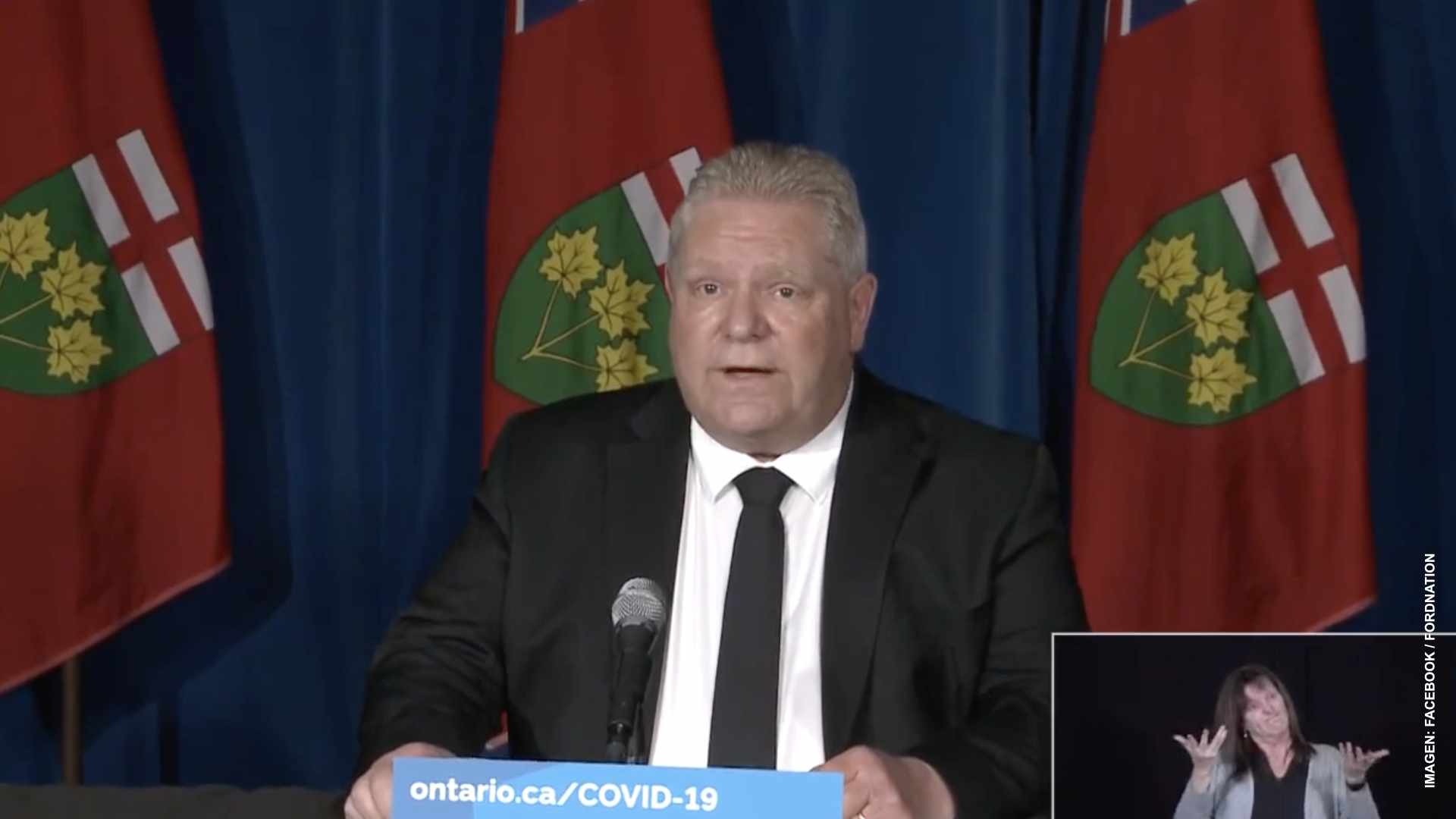 Todo Canadá se moviliza para auxiliar a Ontario
