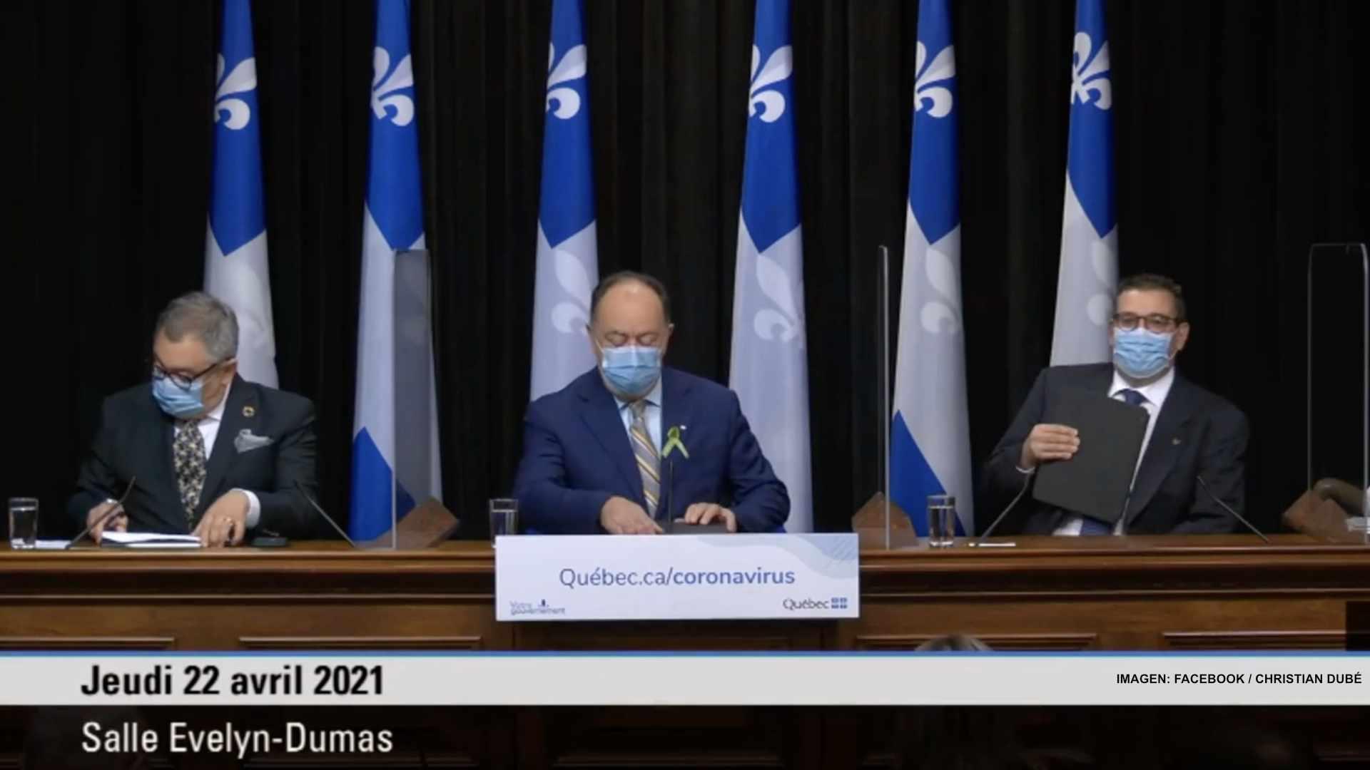 Quebec amplía vacunación de personas vulnerables