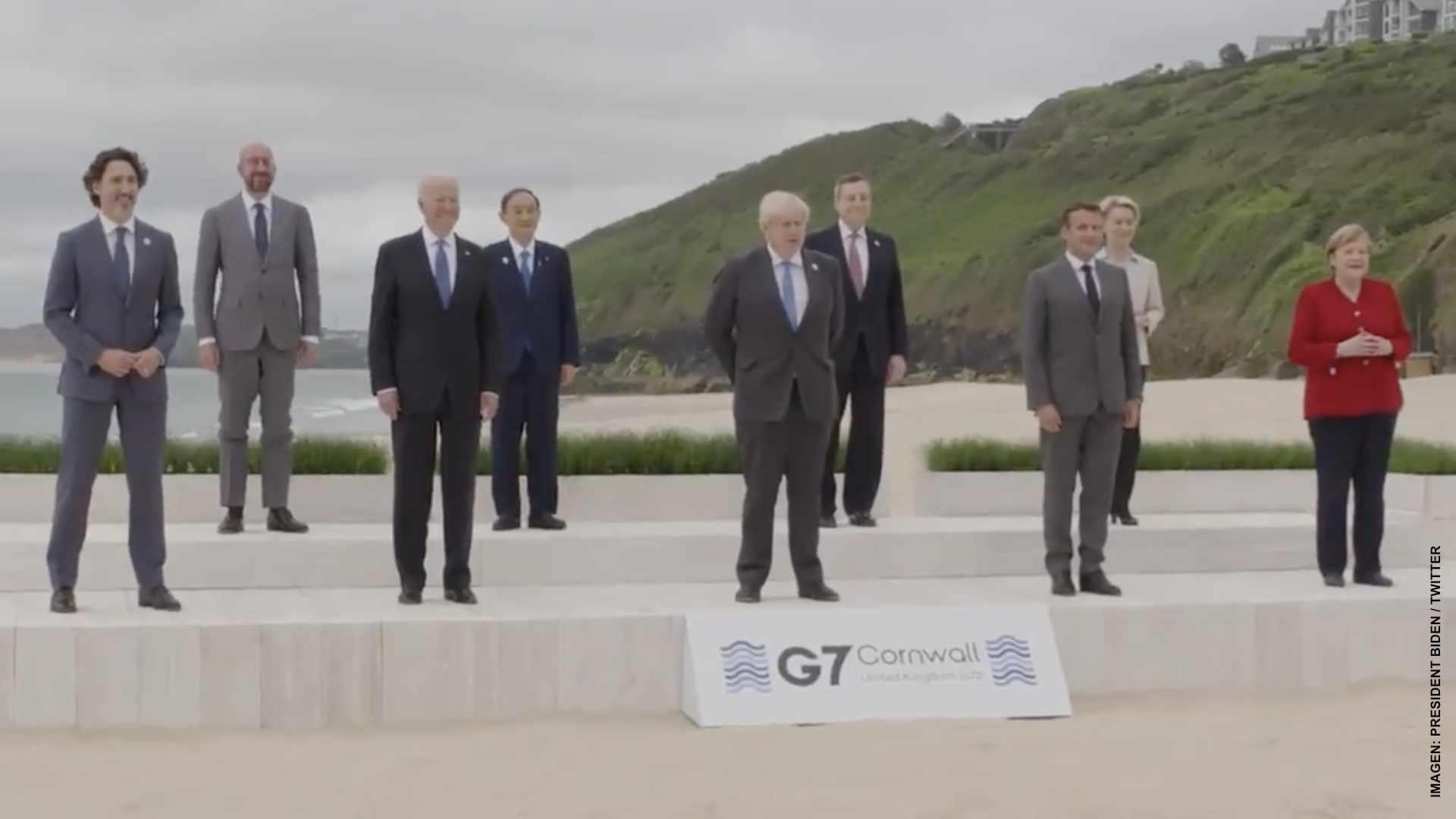 Líderes del G7 evalúan las lecciones de la pandemia