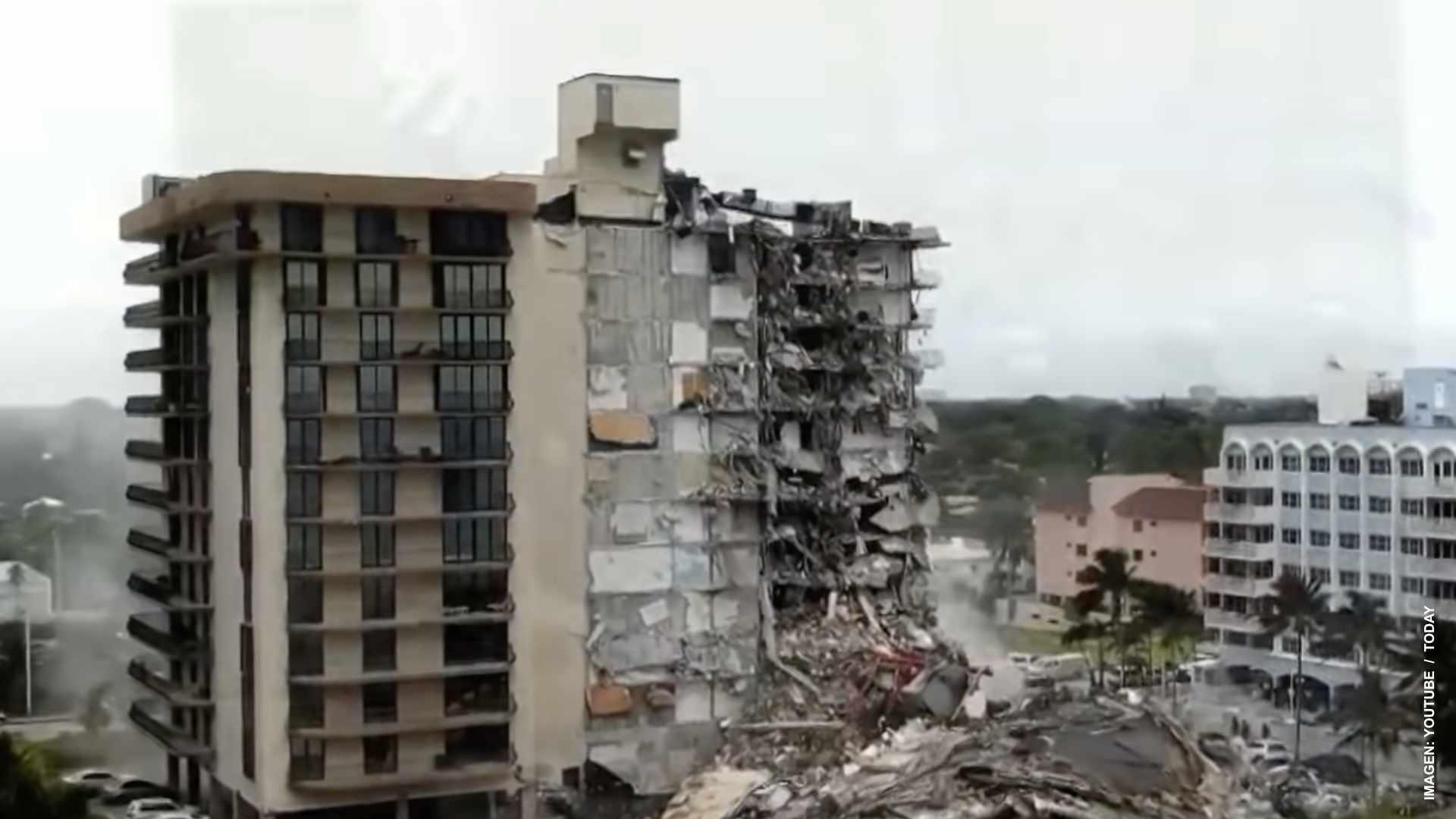 Sigue la búsqueda de sobrevivientes en Florida