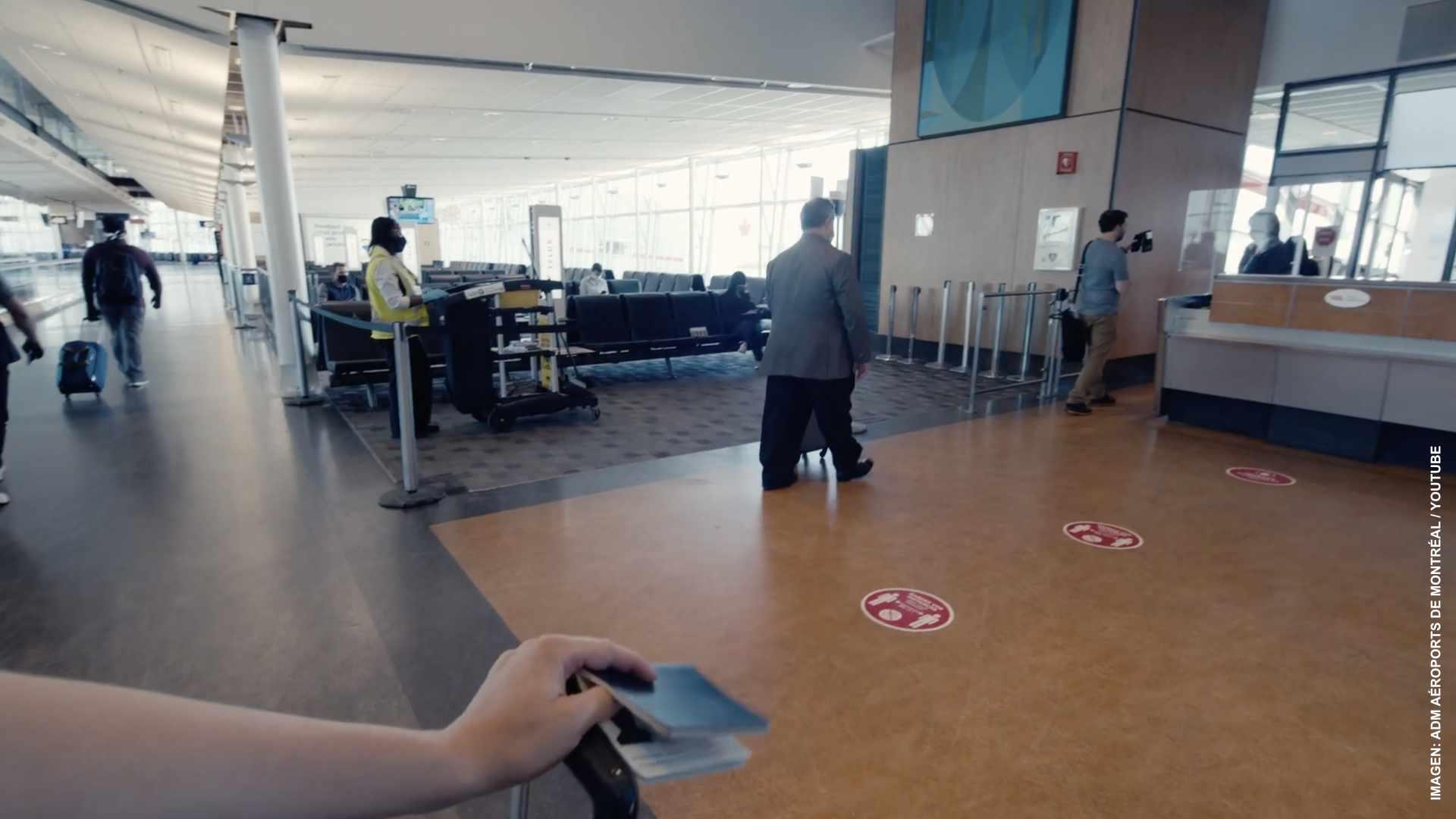 Canadienses vacunados no guardarán cuarentena en hotel