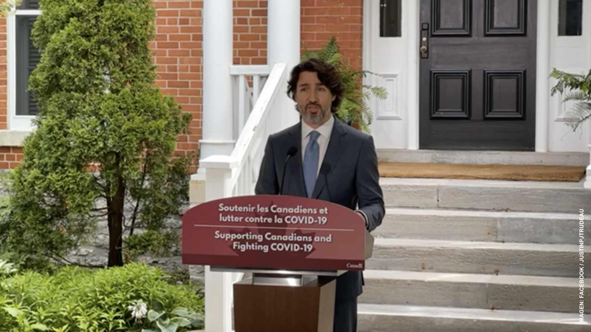 Apertura de fronteras, cuestión de semanas: Trudeau