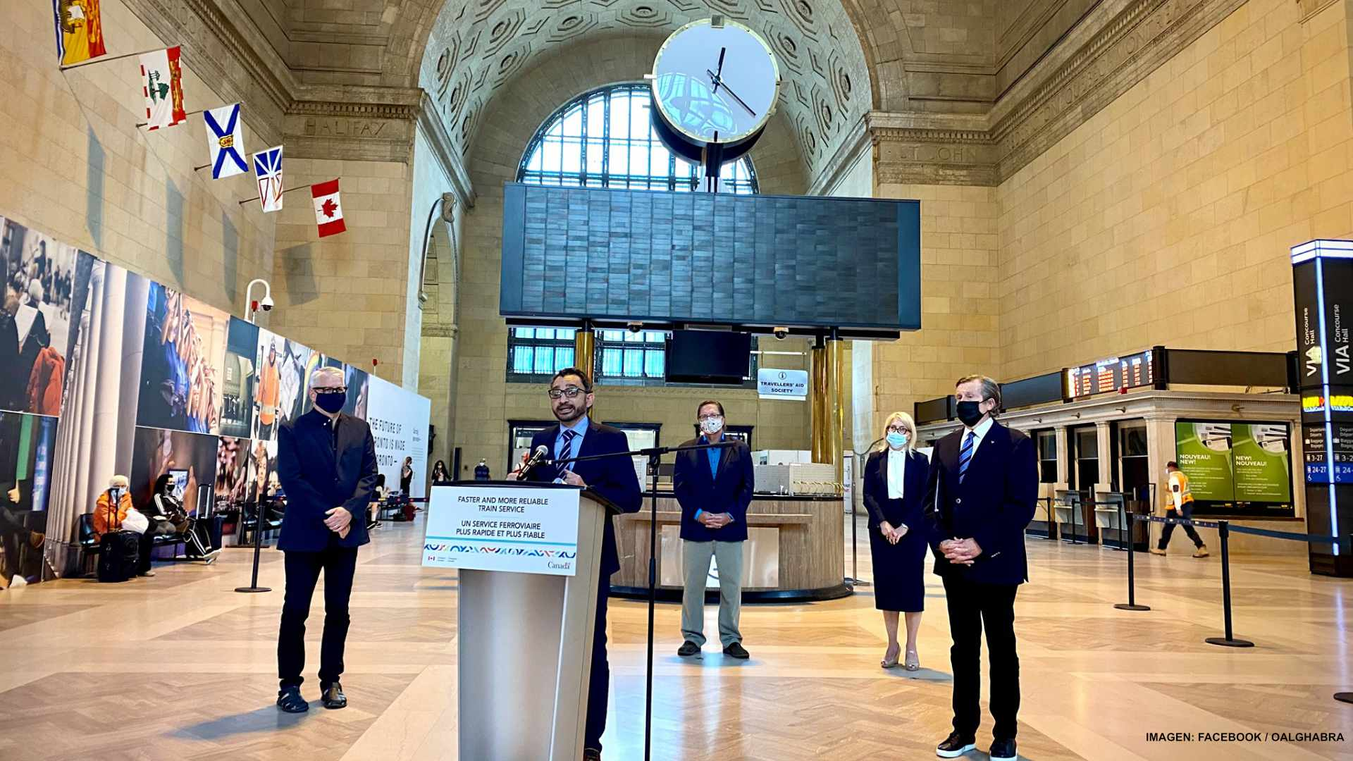 Tren rápido unirá Quebec, Montreal y Toronto en 90 minutos