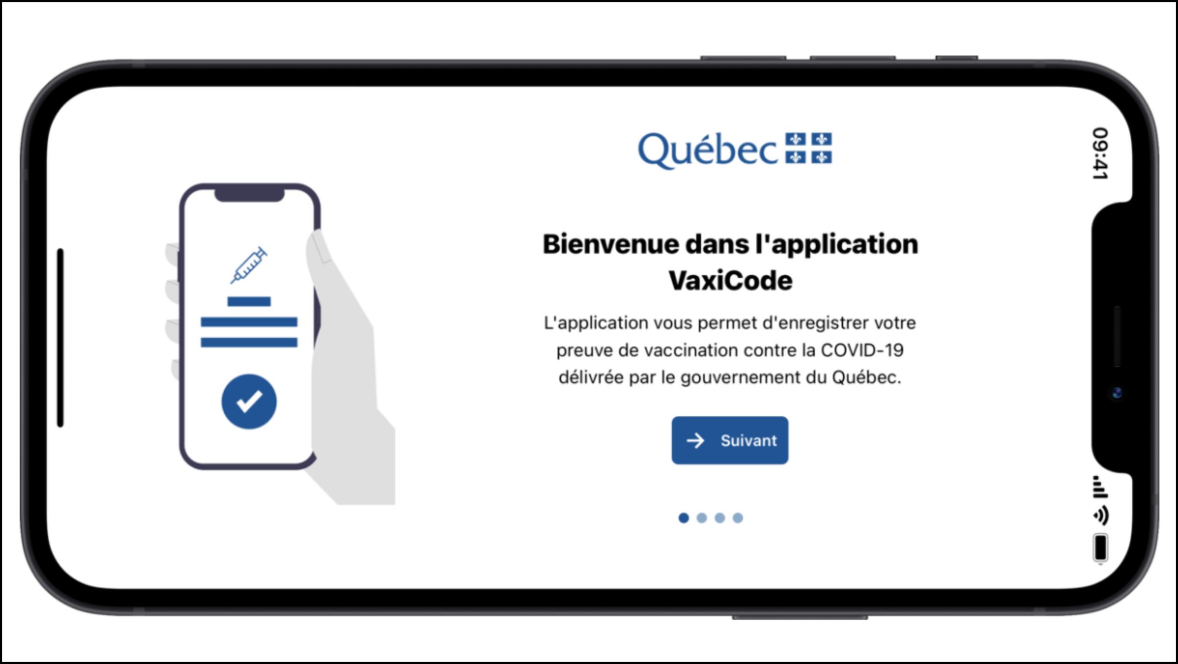 Quebec presenta aplicación para pasaporte de vacunas