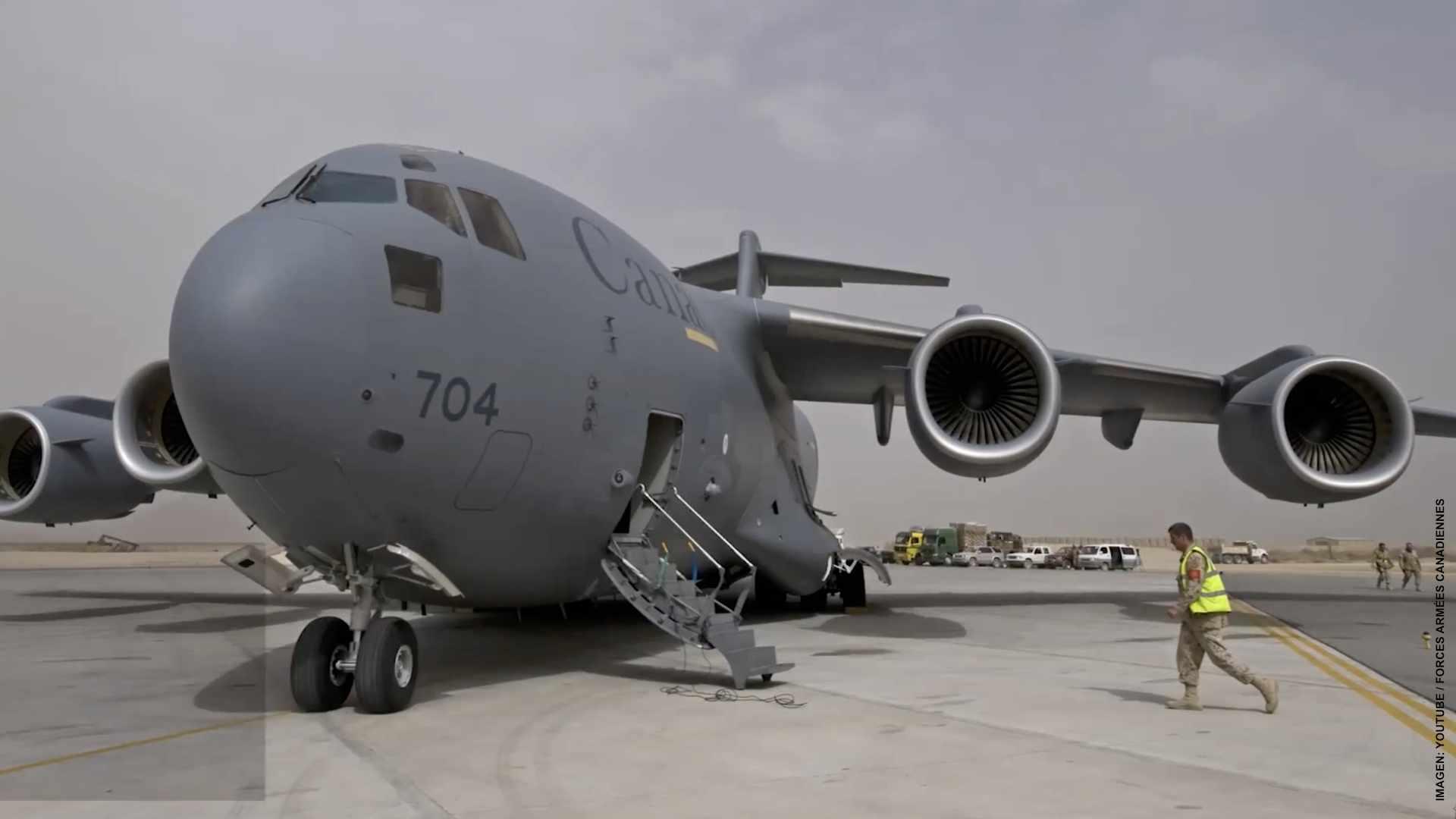 Canadá sigue proceso de evacuación en Afganistán