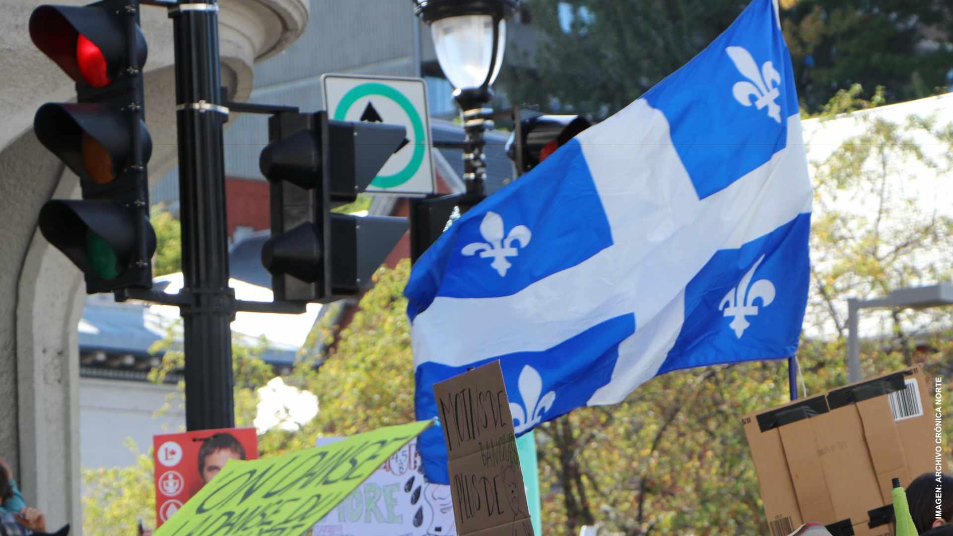 Rechazan pasaporte sanitario frente Asamblea de Quebec