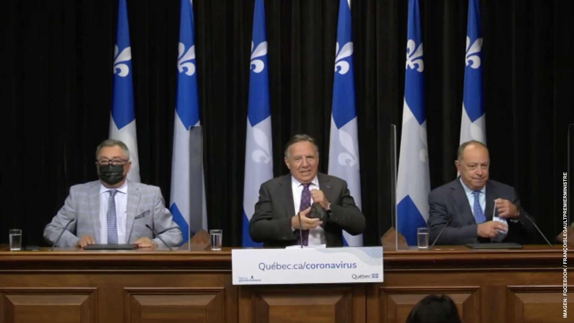 Vacuna obligatoria para el sector salud de Quebec