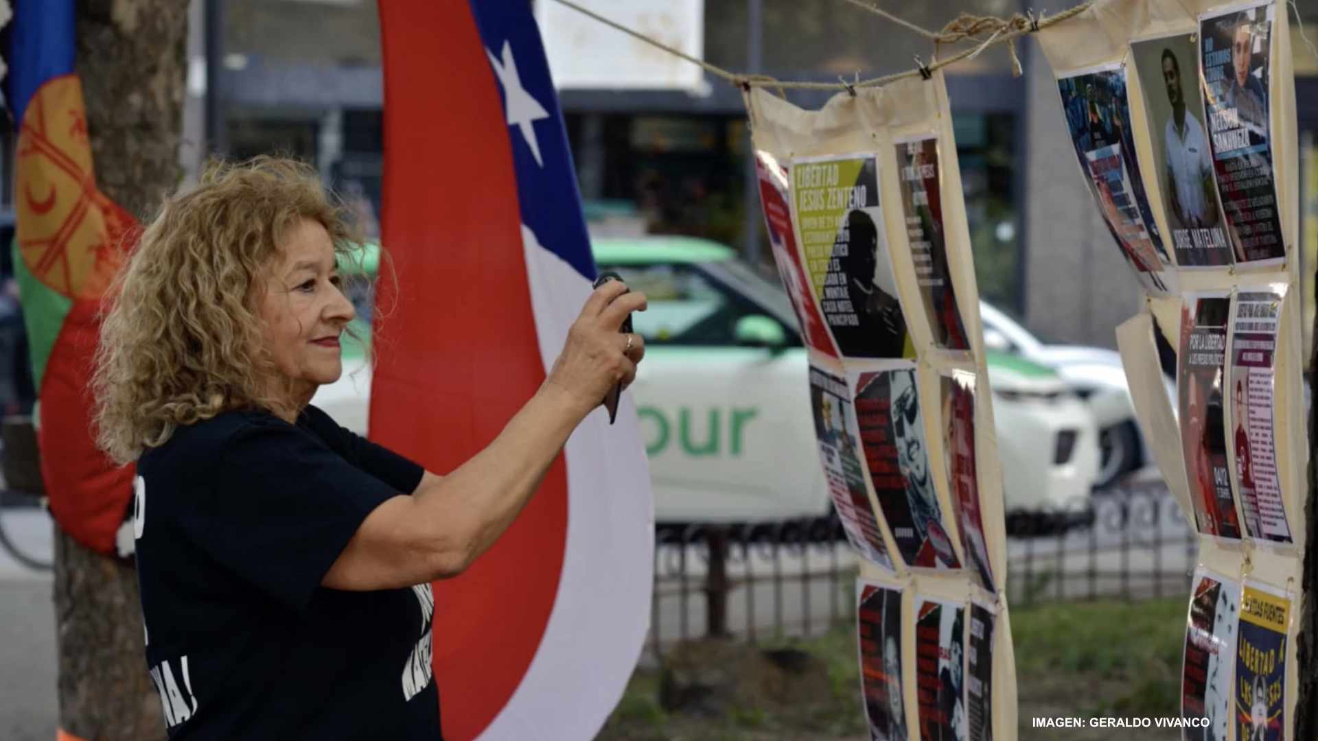 Jornada en Montreal por los presos políticos en Chile