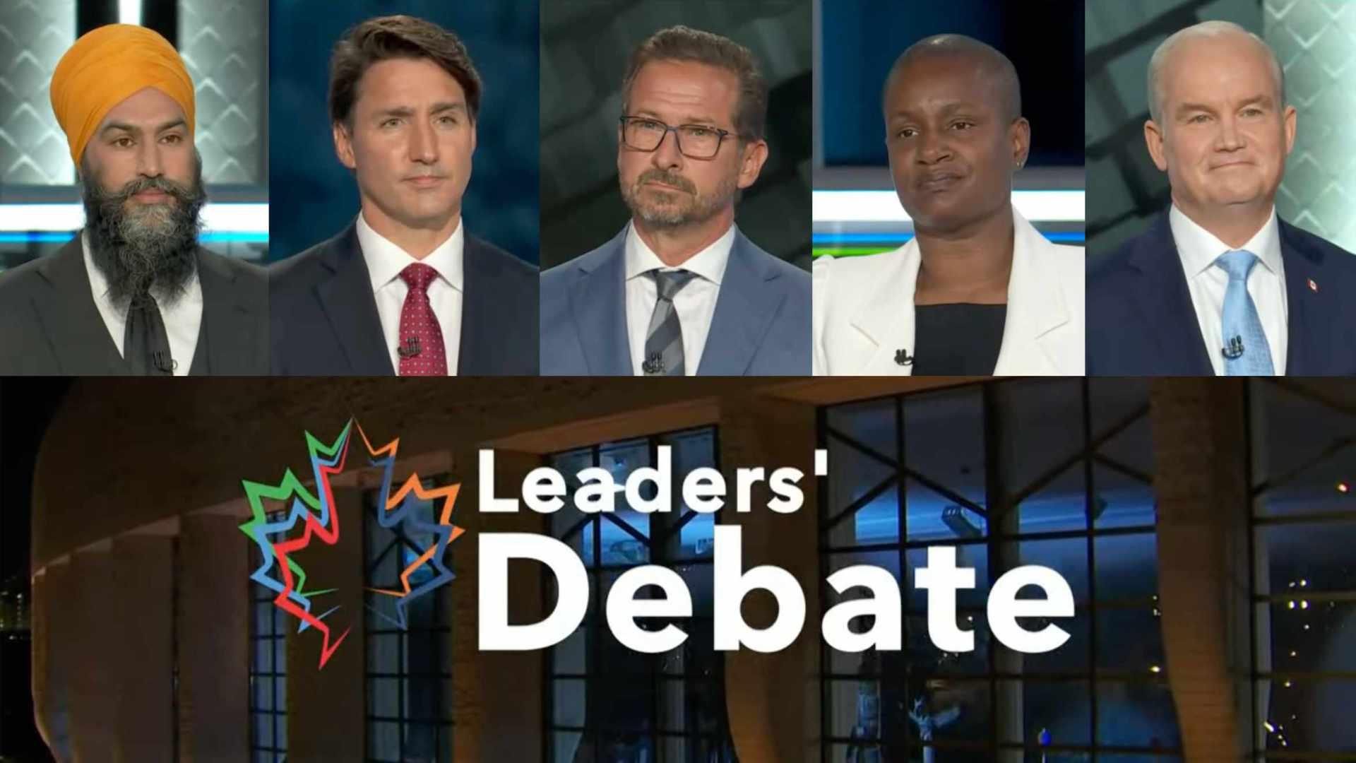Debates de líderes de partidos sin grandes propuestas