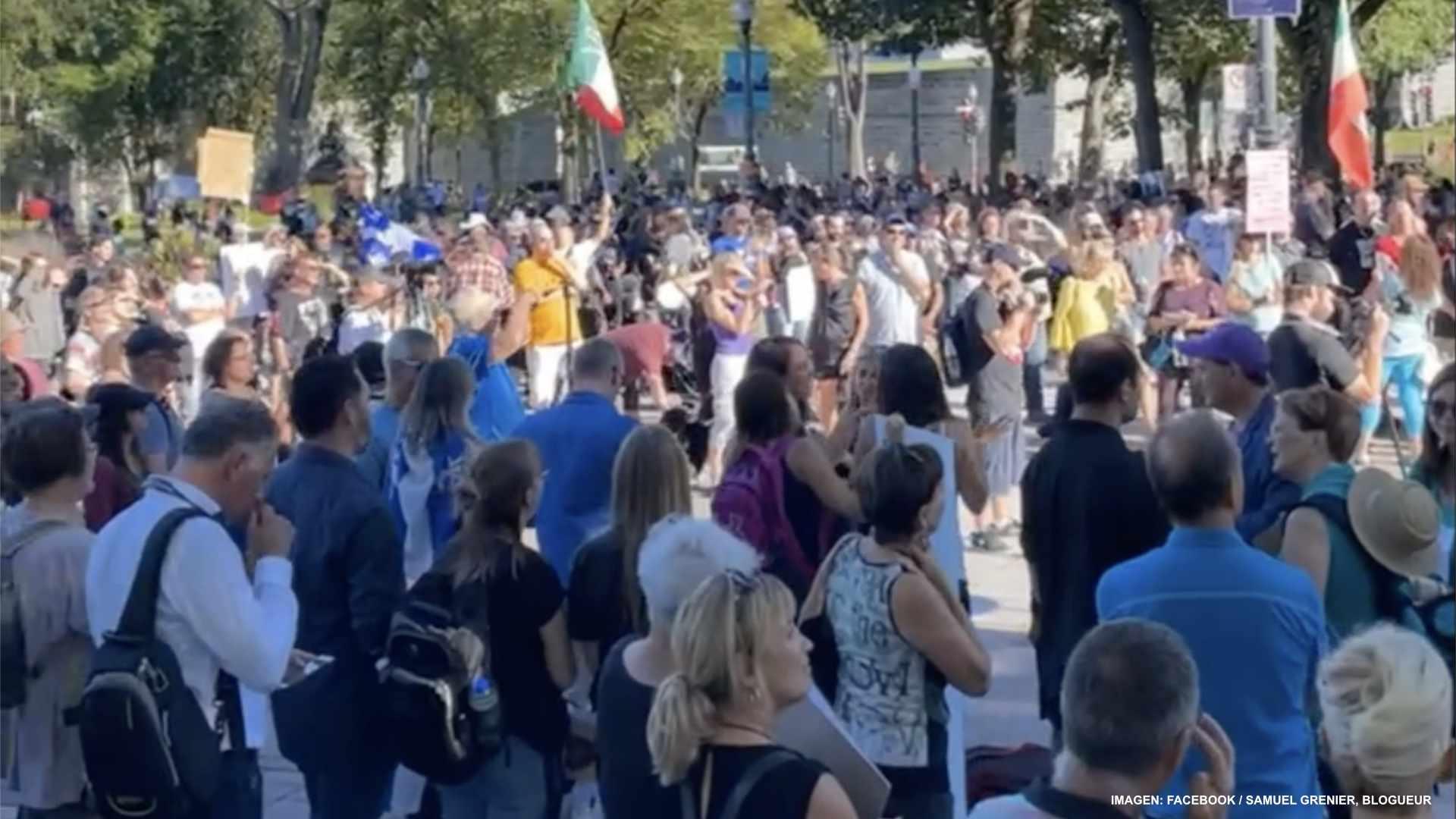 Defensa de libertades frente Asamblea Nacional de Quebec