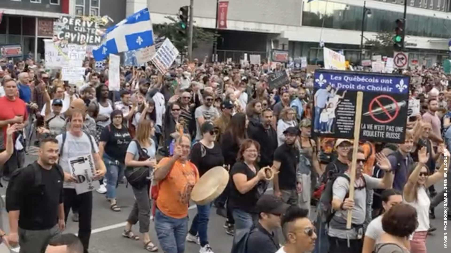 Marchas contra el pasaporte en cuatro ciudades