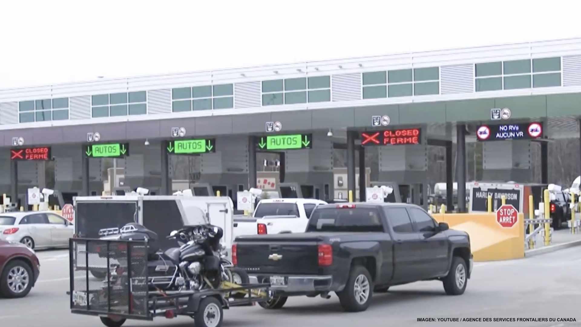 Estados Unidos reabre fronteras con Canadá y México