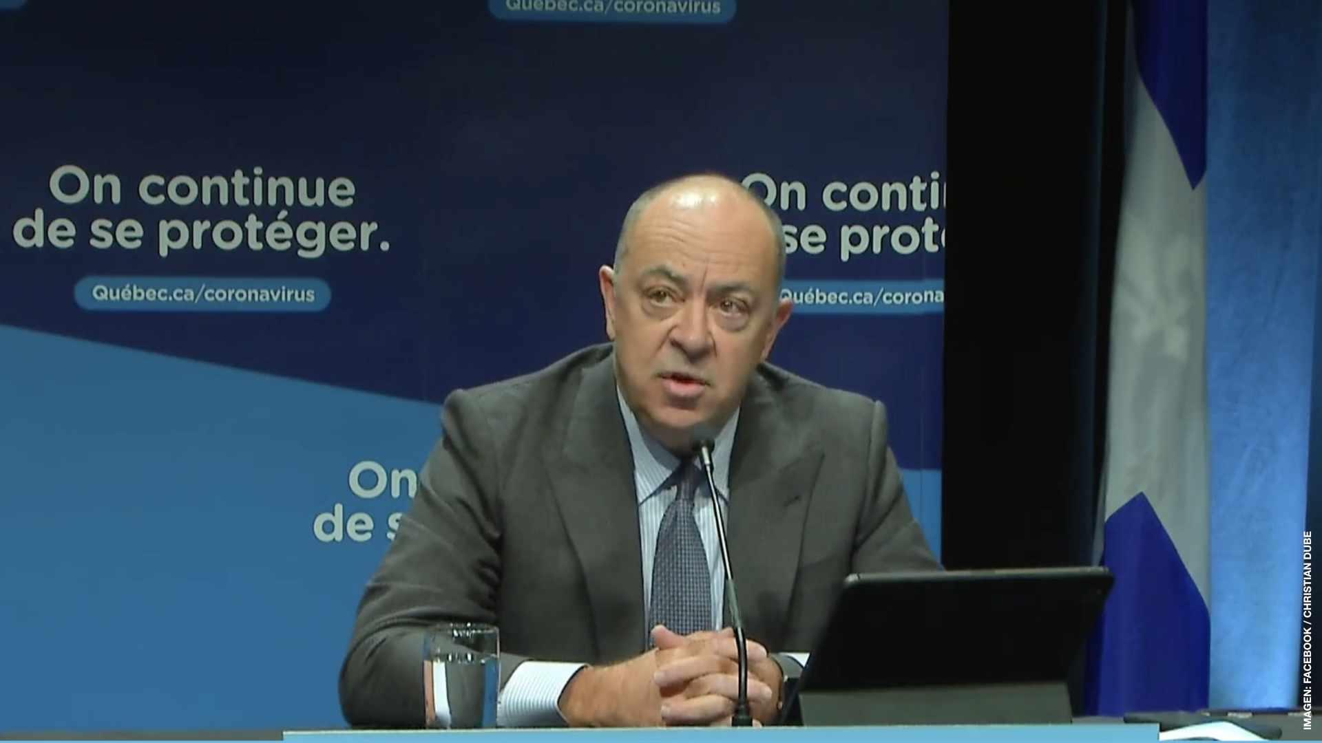 Quebec aplaza vacunación obligatoria en sector Salud